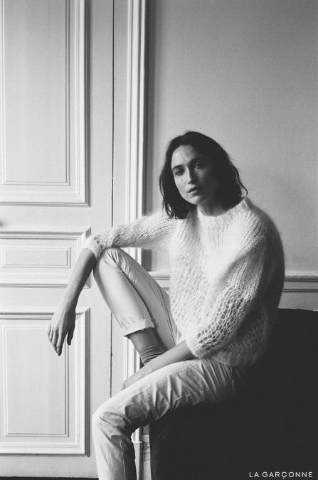 The Interlude/ Acne Studios Oxid Mohair Knit, Isabel Marant Ravena Pant