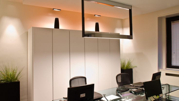 Uffici Academia BSI Milano, Diego Dalla Palma - HI LITE Next controllo illuminazione #Lutron, Distribuzione audio-video #Crestron, #lighting #lighting #design #fixtures #Kreon Cadre