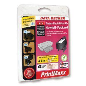 "Data Becker 310 961 H13 Refillkit for Hewlett-Packard cartridge black top offers for ""refilling printer cartridges"
