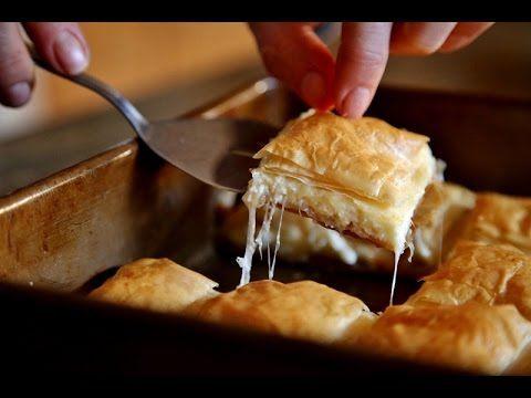 How to make Cheese Borek - Easy Cheese Borek Recipe - Heghineh Cooking Show - YouTube