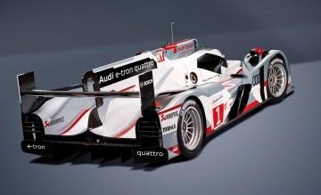 Audi R18 e-tron quattro  Winner at Le Mans this year