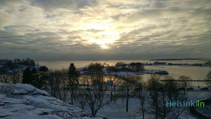 Ullanlinnanmäki in January
