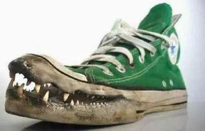 Los botines con boca mas raros y feos del mundo