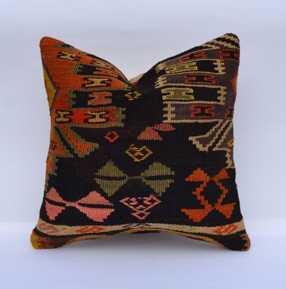 Hey, I found this really awesome Etsy listing at https://www.etsy.com/listing/184045257/turkish-kilim-pillow-bohemian-ethnic