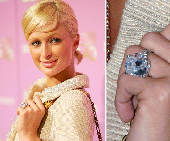 Pin for Later: Die schönsten Eheringe der Stars Paris Hilton