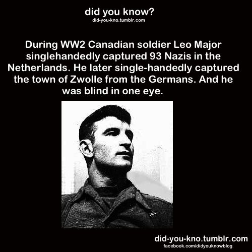 Canadian soldier.