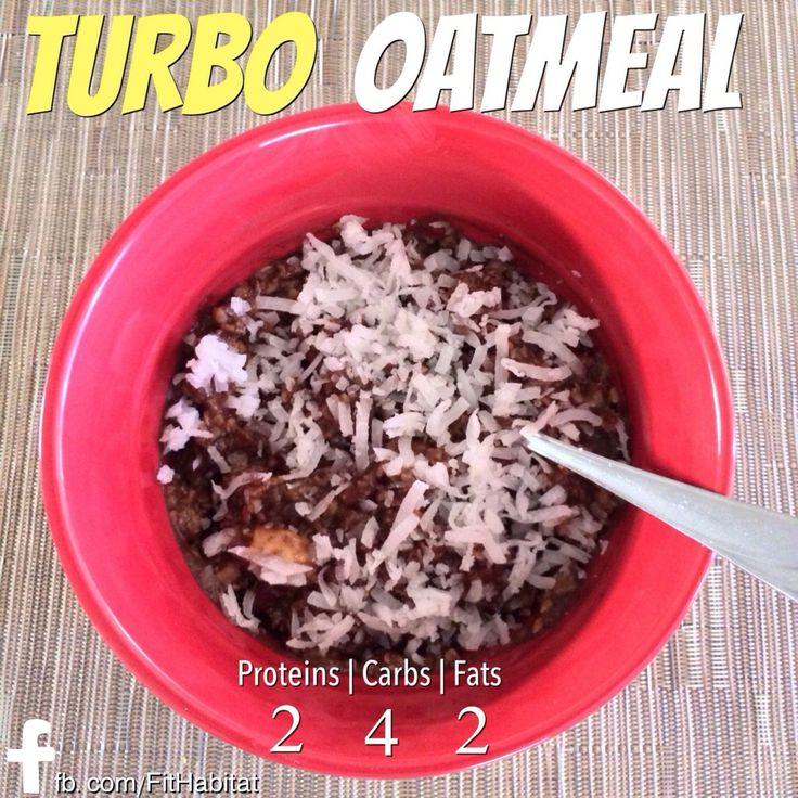 Turbo Oatmeal, A P90X3 Meal Plan Recipe