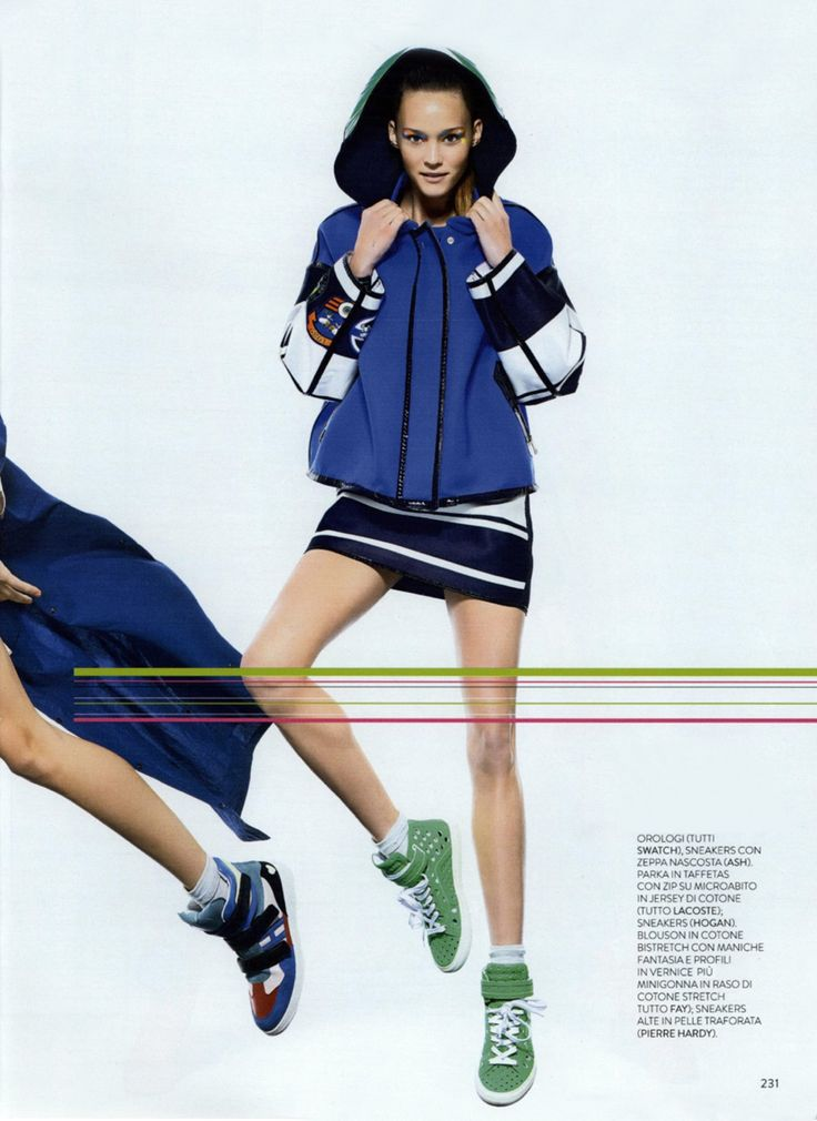 FAY for GRAZIA Italy - 2014. Women's Spring - Summer 2014 collection.