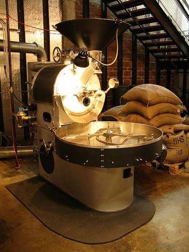 Probat at Stumptown Coffee, Seattle. Photo by Tonx, via Flickr.