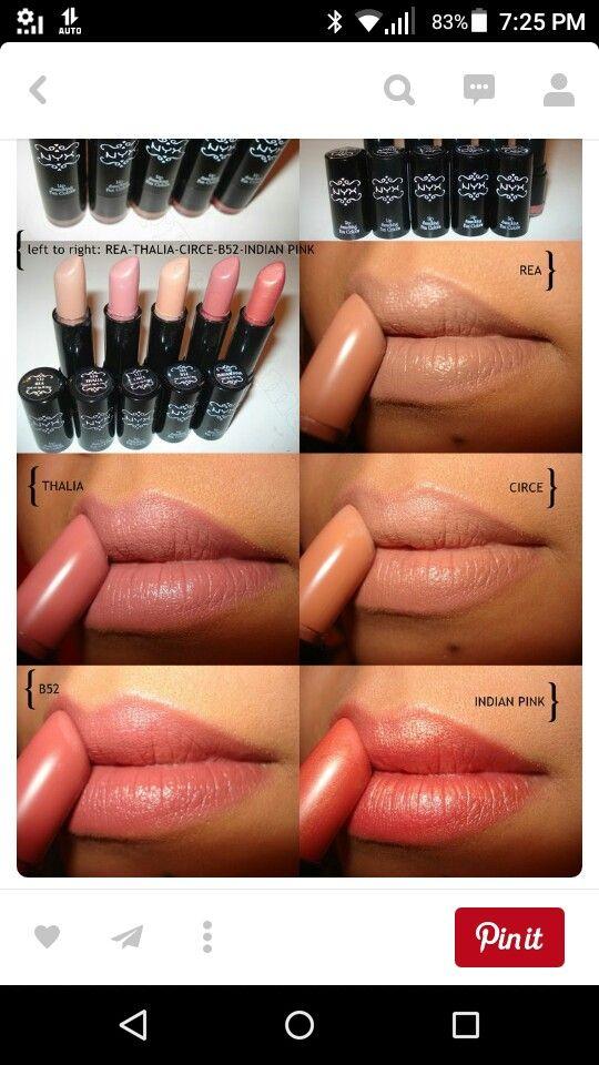 Lip colors for dark skin