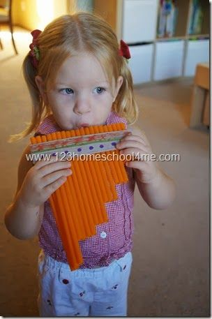 DIY Zamponas - a South American Instrument made by Toddler, Preschool, and…