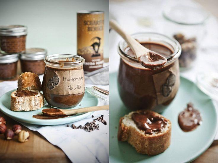 Domowa nutella - przepis na zdrowy krem orzechowo-kakaowy