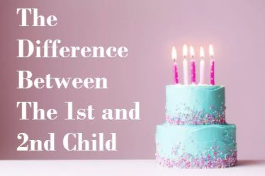 There is a noticeable difference between the work ethics of the first child and the second child. Here are a few examples of this with my children.