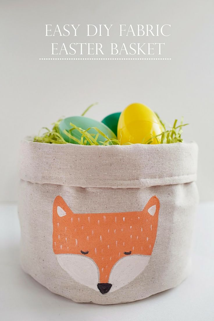 tell love and chocolate: TELL: EASY FABRIC EASTER BASKET