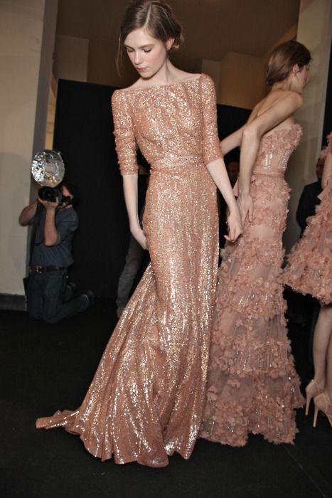 blush: Eliesaab, Wedding Dressses, Rosegold, Elie Saab, Bridesmaid Dresses, Color, Ellie Will Be, Rose Gold, Peaches Dresses