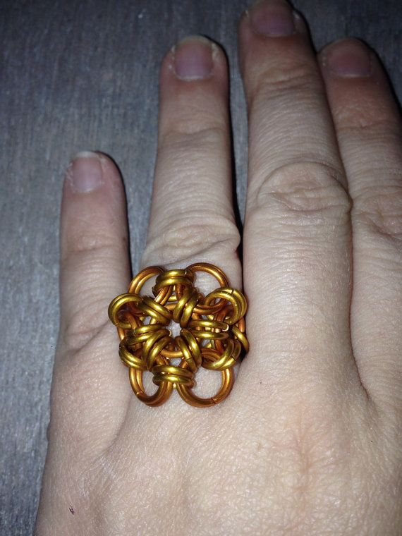Japanese flower ring from TheFairyTre on Etsy, €5.00