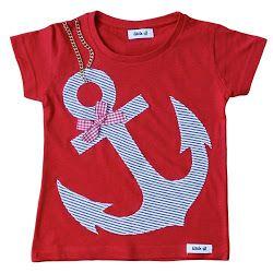 Preciosa camiseta con ancla!