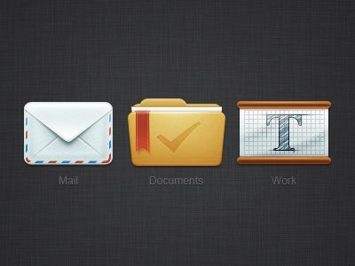 Dribbble - Icons desktop by Di Zaborskih