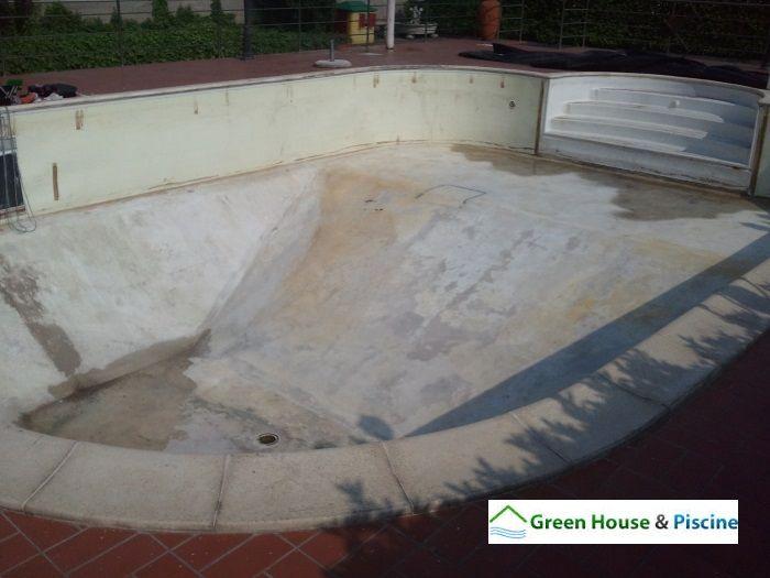 Ristrutturazione di una piscina esistente