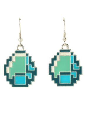 877 best attention deficit oooh shiny images on pinterest goth minecraft diamond earrings its funny cause theyre not real diamond aloadofball Choice Image