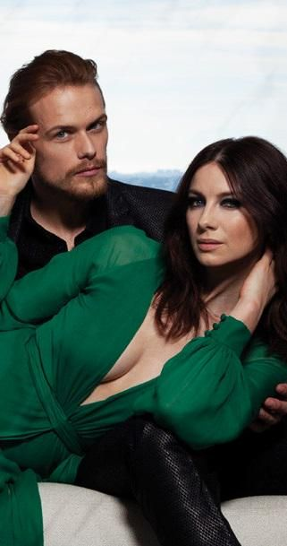 Cait and Sam....what a good looking couple they are...in character and off !!