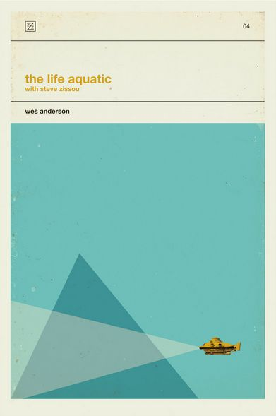 The Life Aquatic alternate poster. Illustrated by Patrick Concepcion.