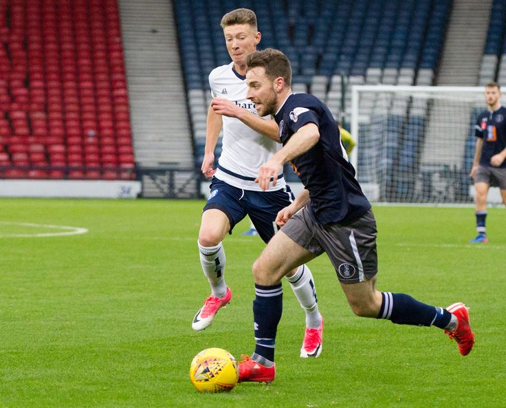 Queen's Park's Chris Duff in action during the SPFL League One game between Queen's Park and Forfar Athletic.