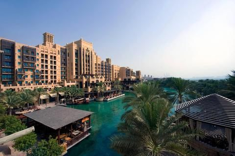 OopsnewsHotels - Jumeirah Mina A' Salam at Madinat Jumeirah. Providing an on-site night club and a beauty salon, Jumeirah Mina A' Salam at Madinat Jumeirah is situated in Dubai and offers 5-star accommodation. It has exclusive access to a secluded beach.   Guests can soak up the outdoors on the terrace or enjoy a drink at the bar. It offers a sauna and an outdoor pool, as well as outdoor tennis courts. It also has its very own wellness centre, Talise.