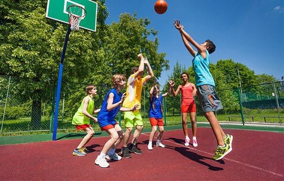 Playground Basketball games