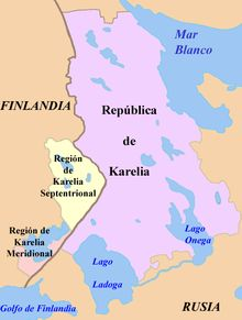 Carelia - Wikipedia, la enciclopedia libre