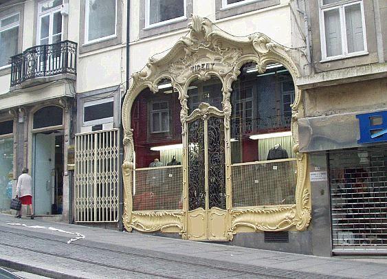 Wonderful Art Nouveau, porto, portugal