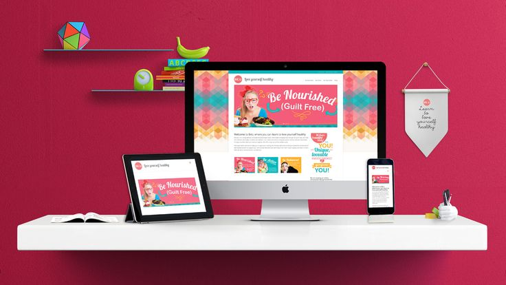 be. u responsive website design by what the fox creative design agency sunshine coast queensland