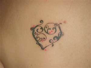 Unique Small Heart Tattoos