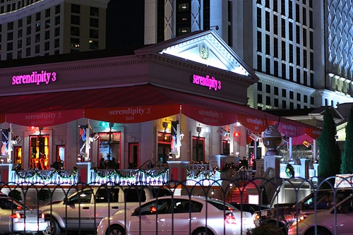Serendipity 3 @ Cesar's Palace - Have a great Frozen Hot Chocolate that I want to try!