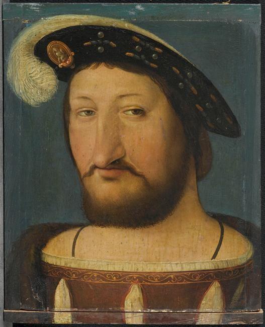 François Ier (1494-1547), roi de France. AnonymE