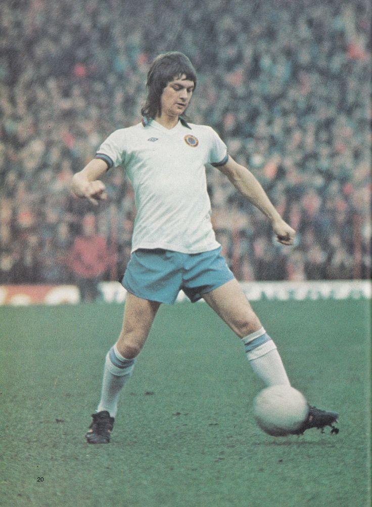 Circa 1976. Aston Villa and England winger/forward Brian Little.