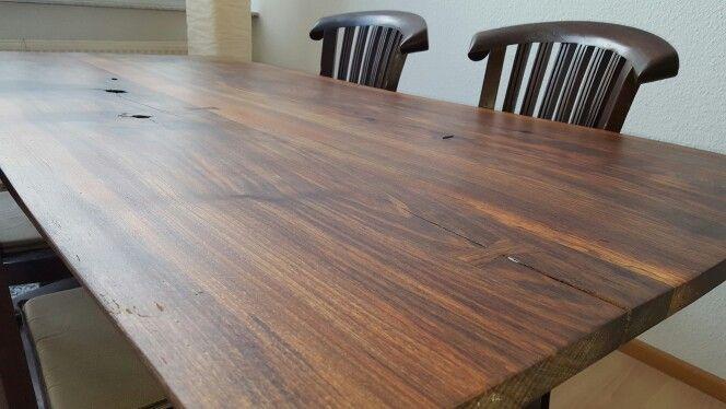 Nussbaum Tisch Industrie Füsse