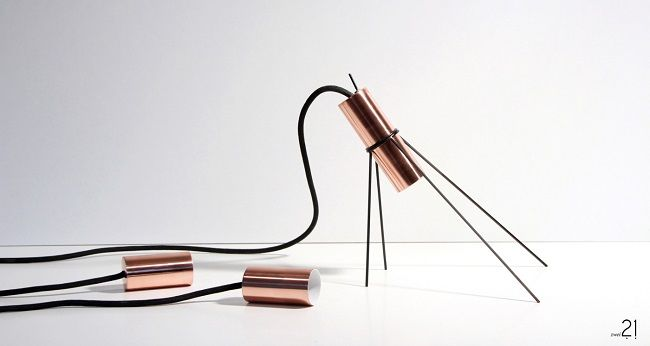 COPPER LIGHT by JASMIN KASTNER & MARC JOSCHKO favorited by LIGHTBOX AMSTERDAM