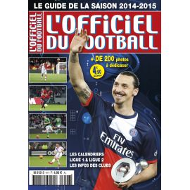 Zlatan en couverture de L'Officiel du Football saison 2014/2015.