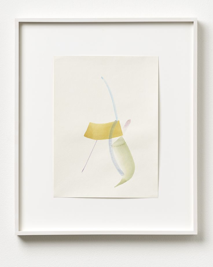 Henrik Eiben - FINDING FOCUS - 2014 - Watercolour on paper; Framed 58 x 49 cm