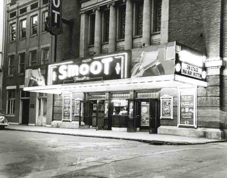 The Smoot Theater In Parkersburg West Virginia 1948