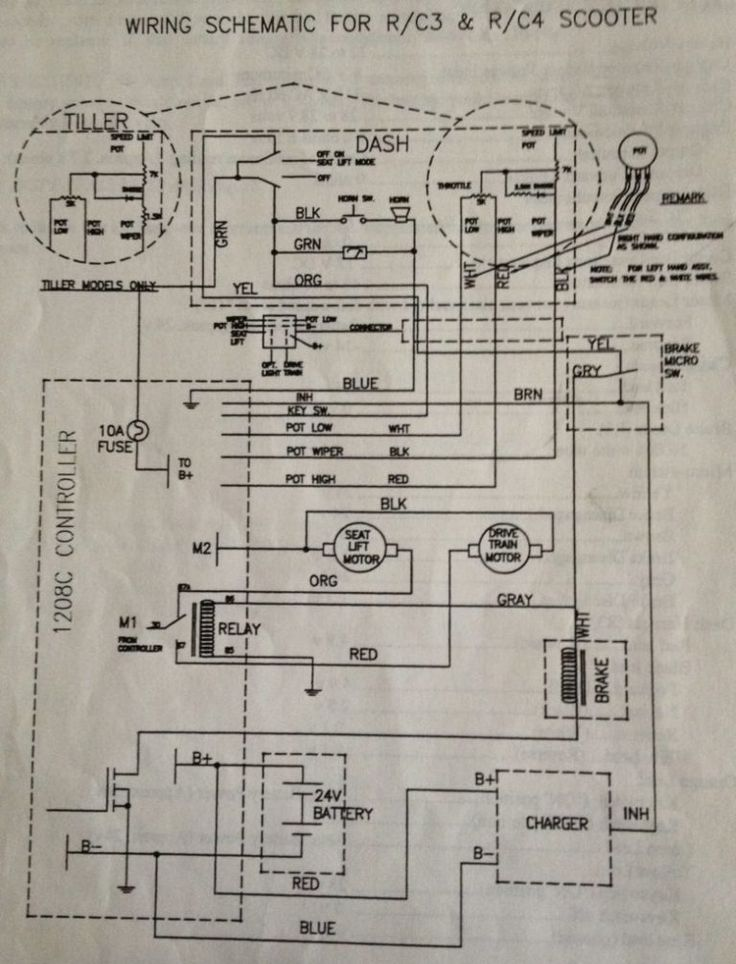Pride Mobility Scooter Wiring Diagram Gimnazijabp Me And