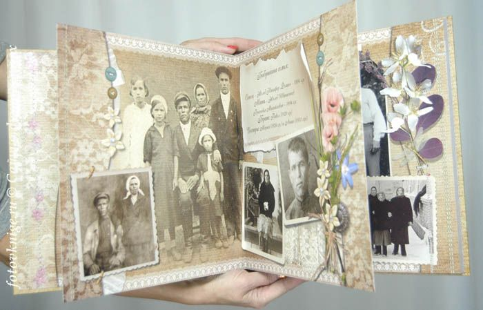 "Photobook - a wonderful gift to your family's birthday, Christmas, new baby, holiday Beloved, wedding. Examples of the finished photo books you can posmotert site ""Photo books for the soul"""