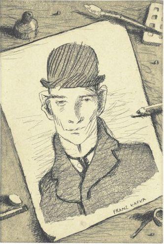 Franz Kafka (incisione), 2002 / Tullio Pericoli