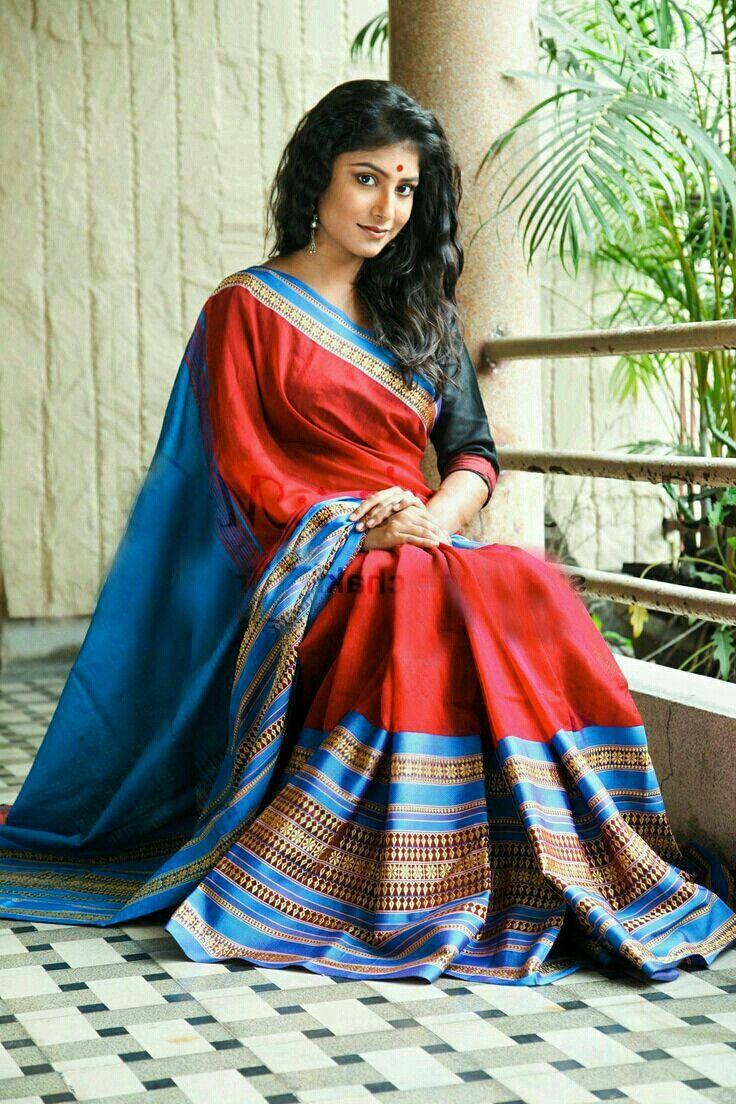 Beautiful sari & model👍...MKS