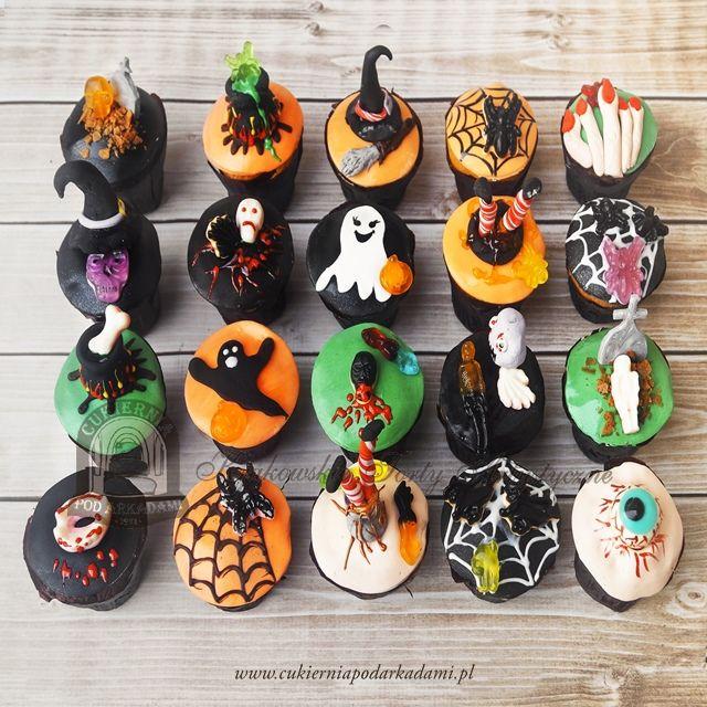 20BC Straszne Babeczki na Halloween. Scary Helloween cupcakes.