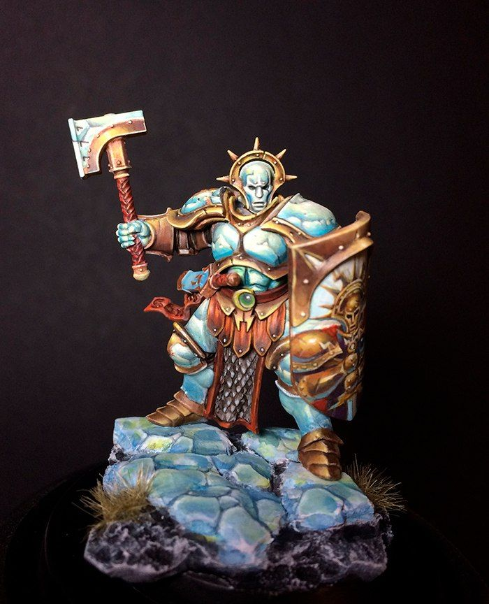 Warhammer Age of Sigmar | Stormcast Eternals | Liberator #warhammer #ageofsigmar #aos #sigmar #wh #whfb #gw #gamesworkshop #wellofeternity #miniatures #wargaming #hobby  #fantasy