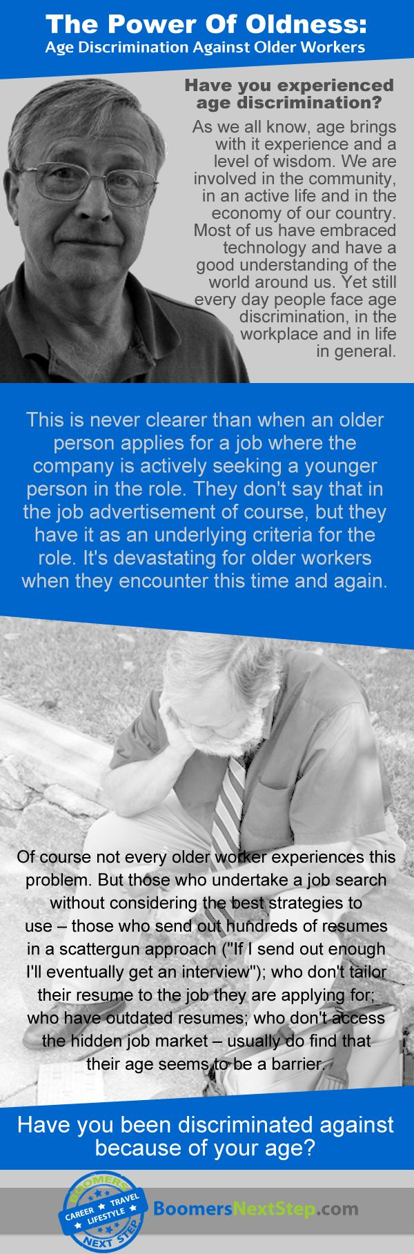 best images about career change infographics facts on age discrimination against older workers