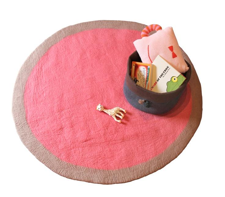 Lumbini Design Rug Indian Pink