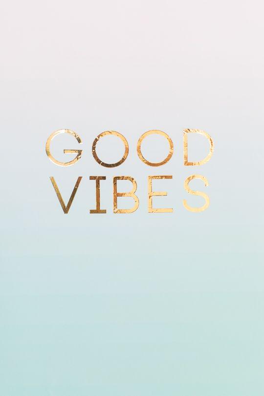 Faça você mesmo arte para colocar na parede. Poster boas vibrações.